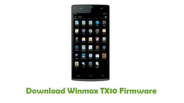 Download Winmax TX10 Firmware