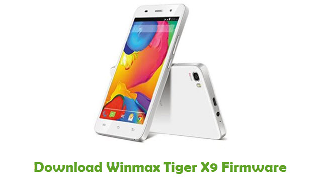 Download Winmax Tiger X9 Firmware