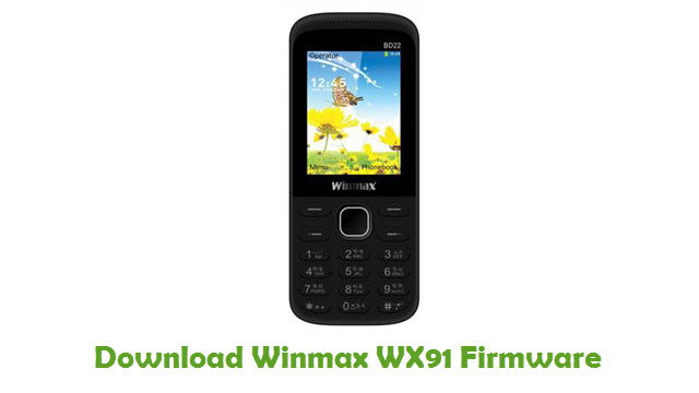 Download Winmax WX91 Firmware