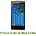Winmax XC15 Firmware