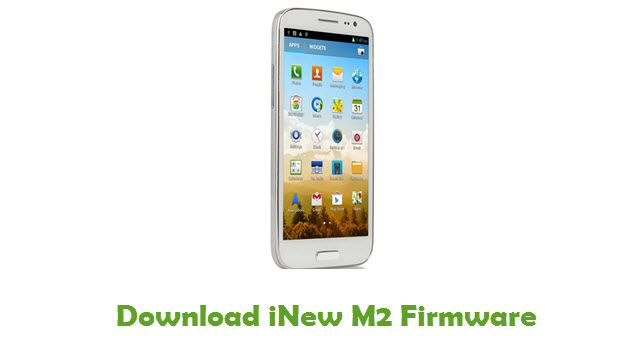 Download iNew M2 Firmware