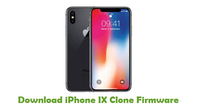 Download iPhone IX Clone Stock ROM