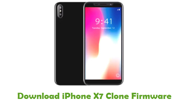 iPhone X7 Clone Stock ROM