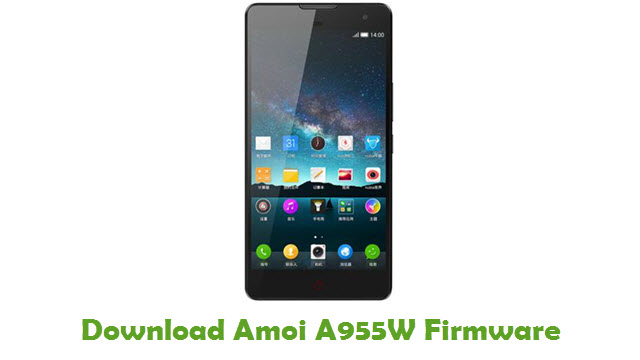 Download Amoi A955W Firmware
