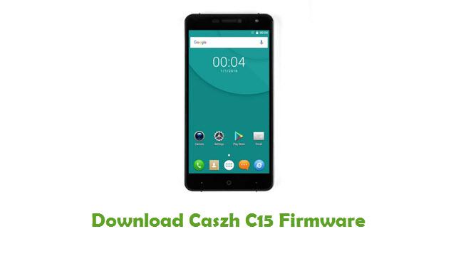 Download Caszh C15 Firmware