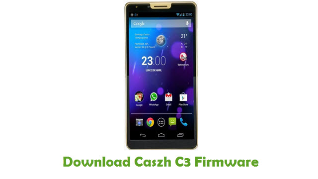 Download Caszh C3 Firmware