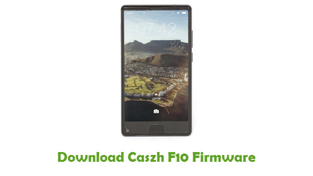 Download Caszh F10 Firmware