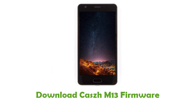 Download Caszh M13 Firmware