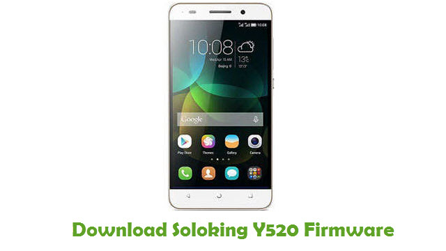 Download Soloking Y520 Firmware