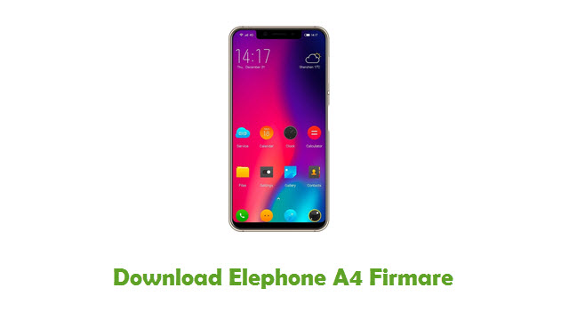 Download Elephone A4 Firmare