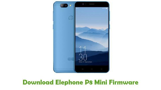 Download Elephone P8 Mini Firmware