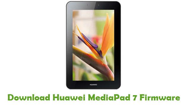 Huawei MediaPad 7 Stock ROM