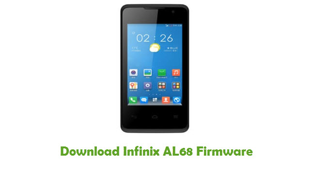 Download Infinix AL68 Firmware