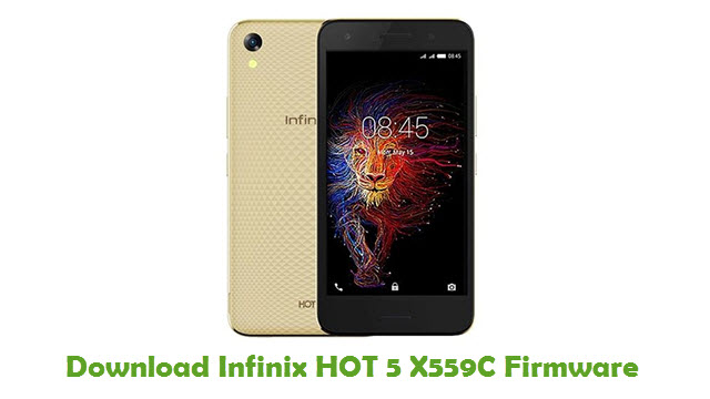 Download Infinix HOT 5 X559C Firmware