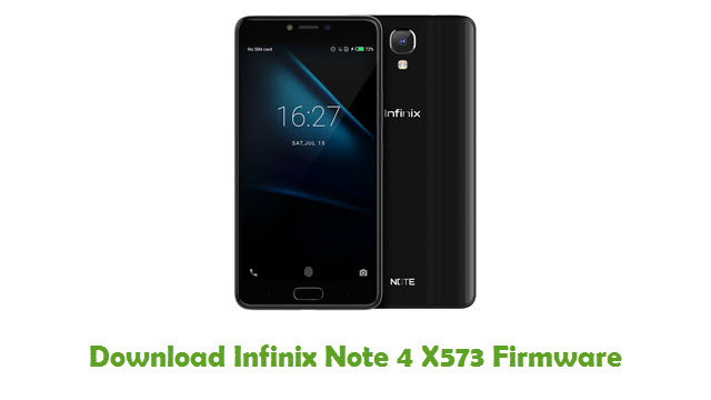 Download Infinix Note 4 X573 Firmware