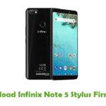 Infinix Note 5 Stylus Firmware