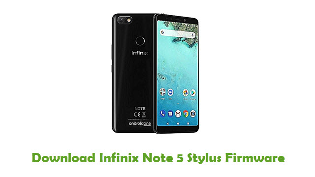 Download Infinix Note 5 Stylus Firmware