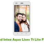Intex Aqua Lions T1 Lite Firmware