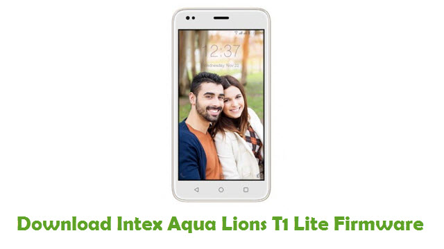 Intex Aqua Lions T1 Lite Stock ROM