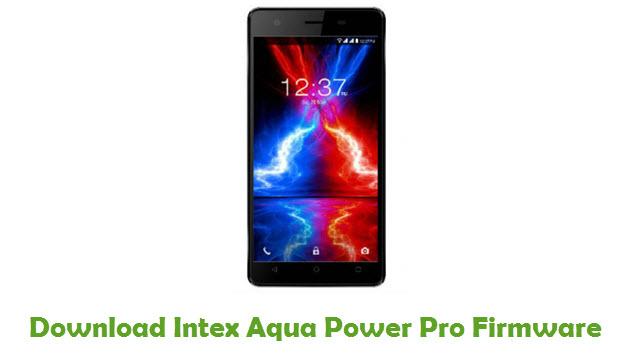 Download Intex Aqua Power Pro Firmware