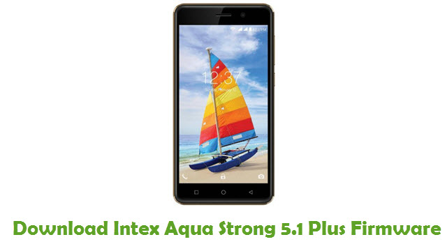 Download Intex Aqua Strong 5.1 Plus Firmware