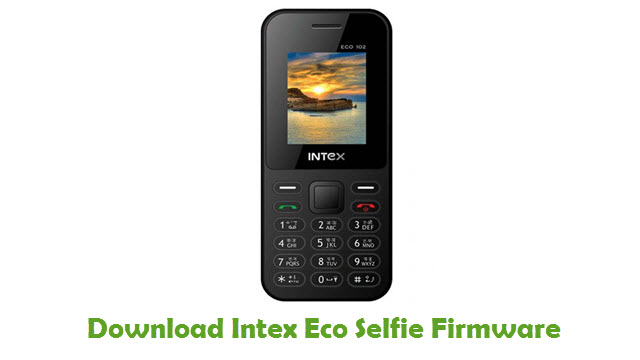 Intex Eco Selfie Stock ROM