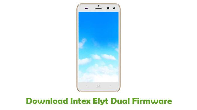 Intex Elyt Dual Stock ROM