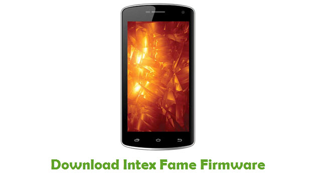 Download Intex Fame Firmware