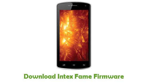 Intex Fame Stock ROM