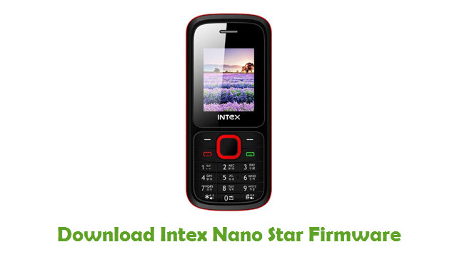 Download Intex Nano Star Firmware
