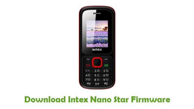 Intex Nano Star Stock ROM