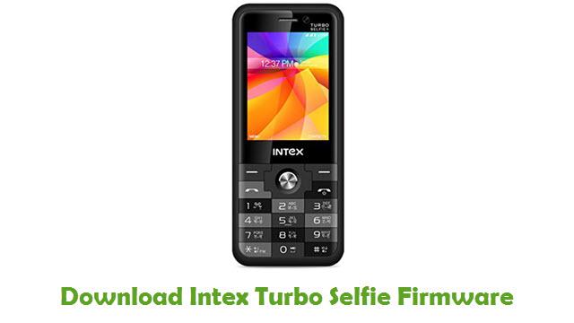 Download Intex Turbo Selfie Firmware