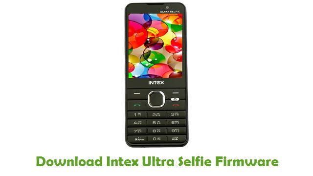 Download Intex Ultra Selfie Firmware