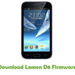 Lemon D6 Firmware