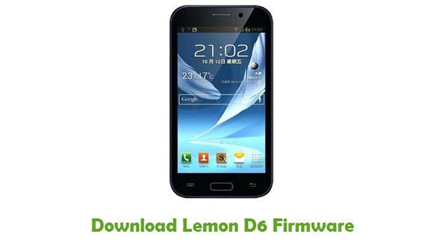 Download Lemon D6 Firmware