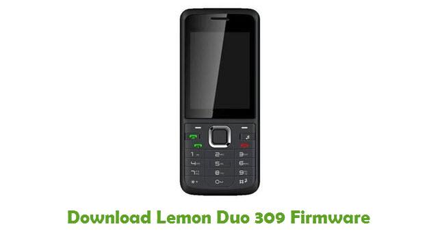 Download Lemon Duo 309 Firmware