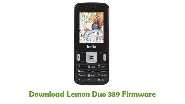 Download Lemon Duo 339 Stock ROM