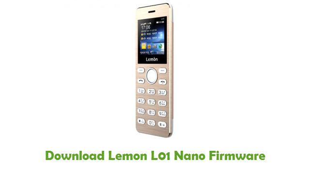 Download Lemon L01 Nano Firmware