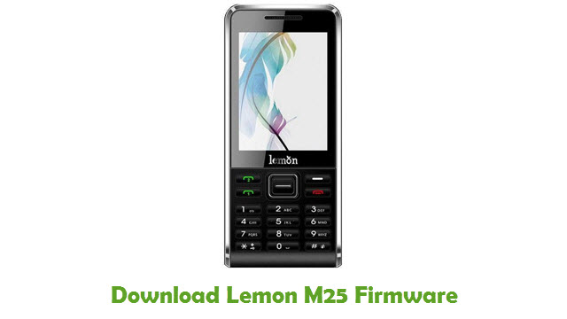 Download Lemon M25 Firmware