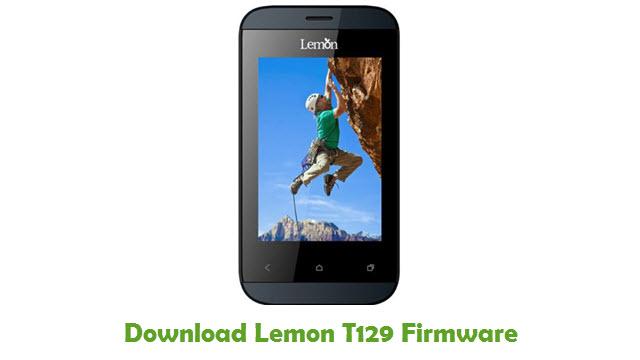 Download Lemon T129 Firmware