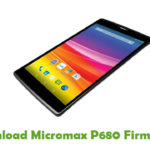 Micromax P680 Firmware