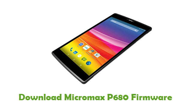 Download Micromax P680 Firmware