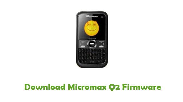 Micromax Q2 Stock ROM