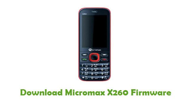 Micromax X260 Stock ROM