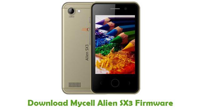 Download Mycell Alien SX3 Firmware