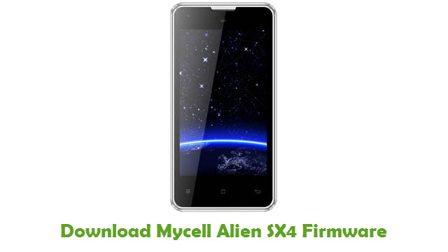 Download Mycell Alien SX4 Firmware