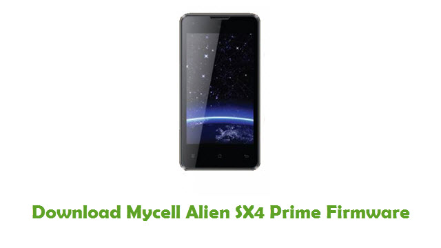 Download Mycell Alien SX4 Prime Firmware