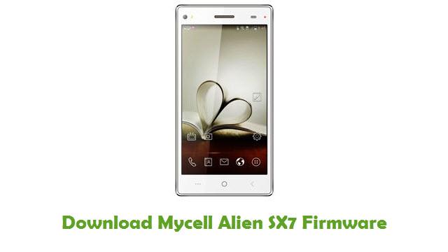 Download Mycell Alien SX7 Firmware