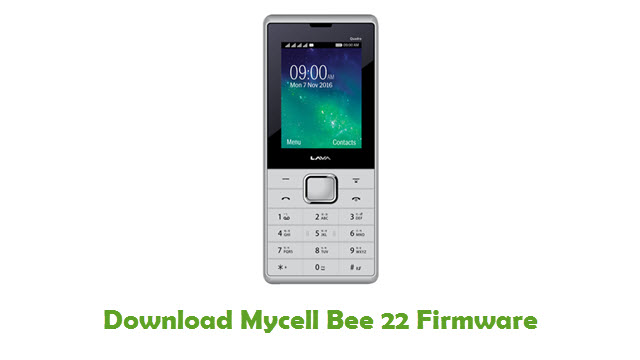 Download Mycell Bee 22 Firmware