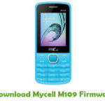 Mycell M109 Firmware